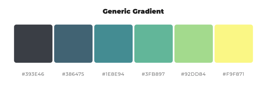 Fargepaletten til InboundLab fargeprofil