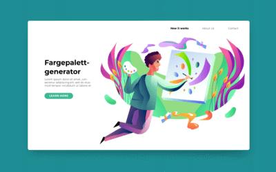 Slik velger du gode farger til nettsiden din enkelt og gratis
