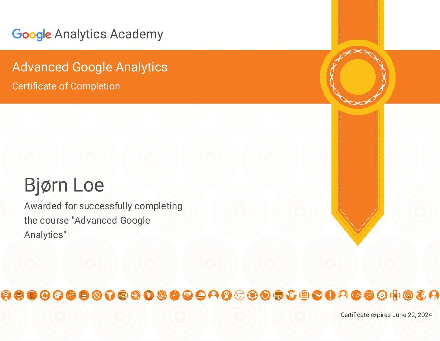 Google Ads sertifisering