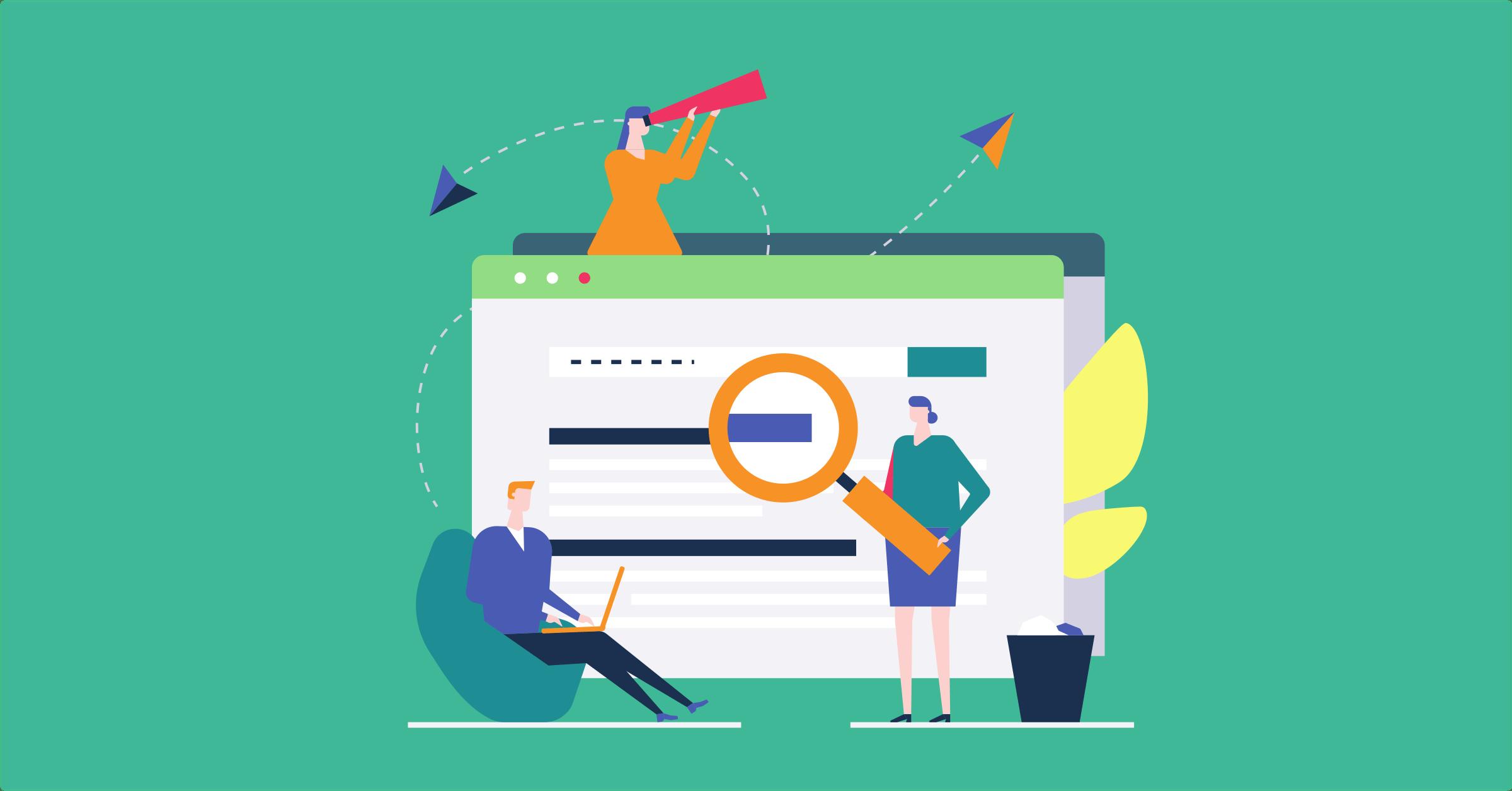 Hjelp brukerne å finne innhold på nettsiden din
